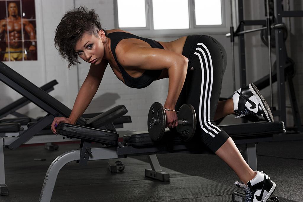 Fitness Studio Photography - Silver Fox Studios