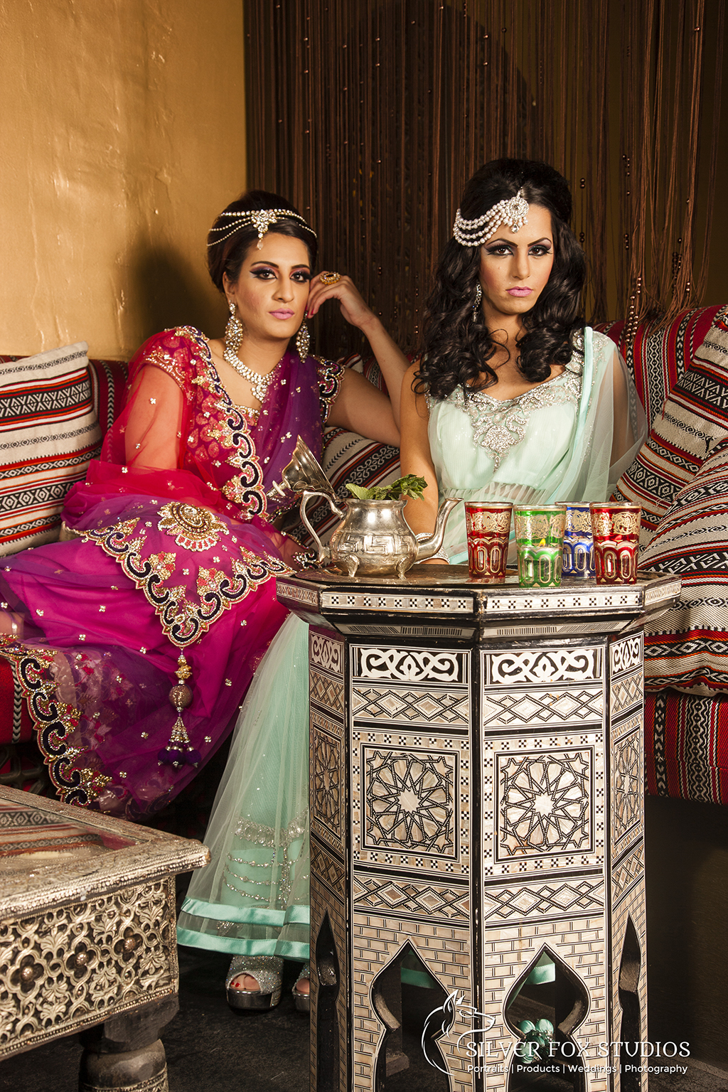 Middle East Inspired Portrait | Silver Fox Studios