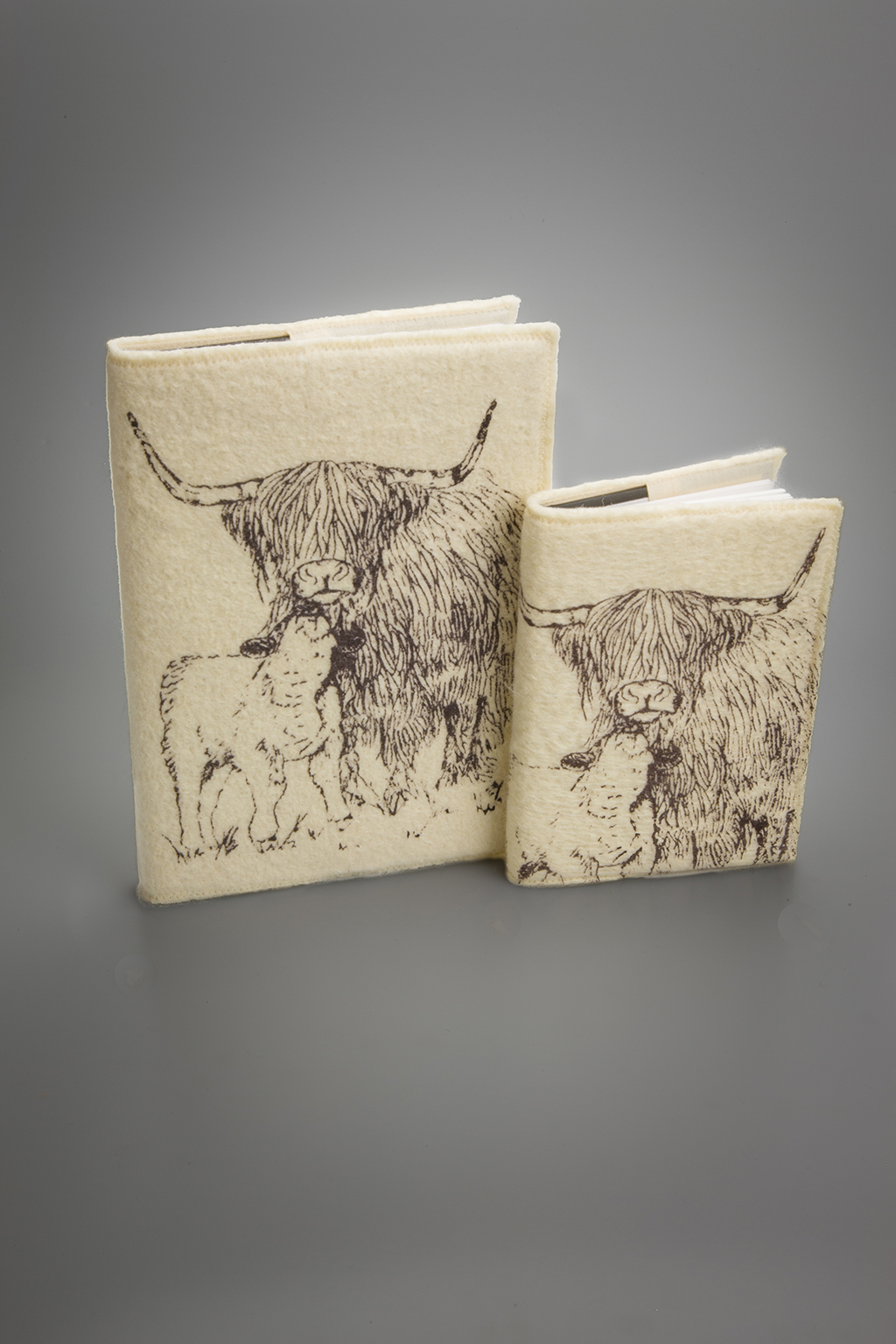 Product Photography - Highland Cow Notebooks (Homewares) | Silver Fox Studios