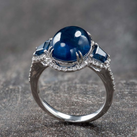 Jewellery Photography - Blue Stone Ring