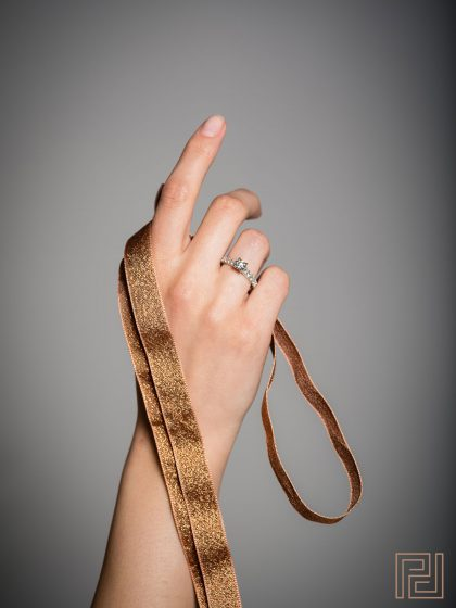 Jewellery Photography - Ring Finger